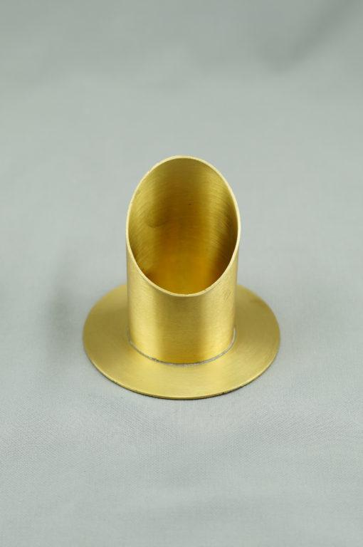Kerzenständer, gold 50 mm