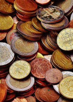 Geldbetrag für Geldkerze
